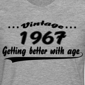 Vintage 1967 Getting Better With Age T-Shirts - Men's Premium Longsleeve Shirt