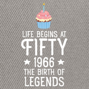 Life Begins AT Fifty...(Cupcake) Magliette - Snapback Cap