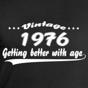 Vintage 1976 Getting Better With Age T-Shirts - Men's Sweatshirt by Stanley & Stella