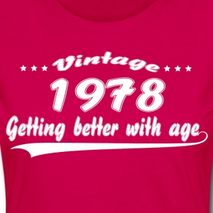 Vintage 1978 Getting Better With Age T-Shirts - Women's Premium Longsleeve Shirt