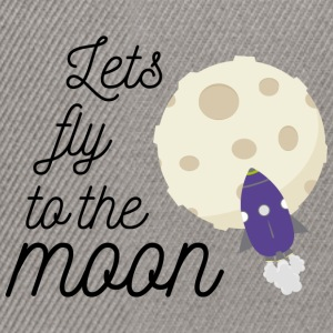 fly to the moon T-Shirts - Snapback Cap