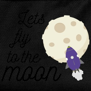 fly to the moon Sweat-shirts - Sac à dos Enfant