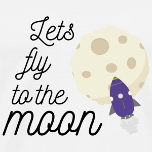 fly to the moon Autres - T-shirt Premium Homme