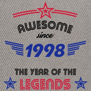 Awesome since 1998 T-Shirts - Snapback Cap