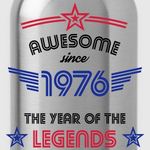 Awesome since 1976 T-Shirts - Trinkflasche