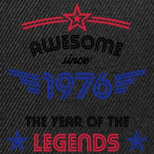 Awesome since 1976 T-Shirts - Snapback Cap