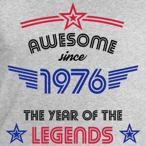 Awesome since 1976 T-Shirts - Men's Sweatshirt by Stanley & Stella