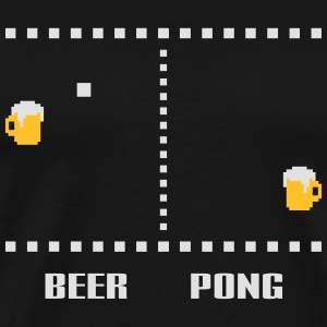 Beerpong Retrogamer Hoodies & Sweatshirts - Men's Premium T-Shirt