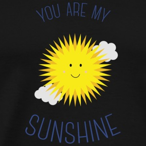 You are my sunshine Manches longues - T-shirt Premium Homme