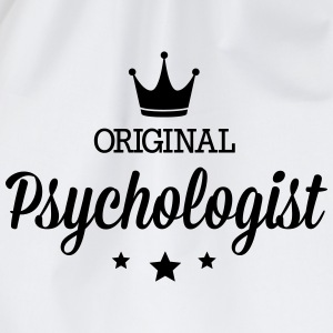 Original three star deluxe psychologist T-Shirts - Drawstring Bag