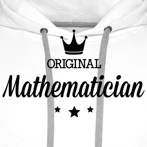 Original three star deluxe mathematician T-Shirts - Men's Premium Hoodie