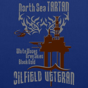 Tartan Oil Field Oil Rig Platform T-Shirts - Tote Bag