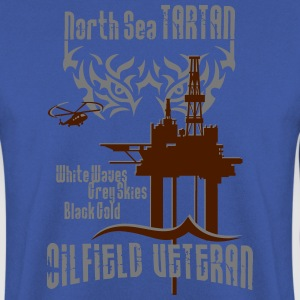 Tartan Oil Field Oil Rig Platform T-Shirts - Men's Sweatshirt