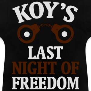 JGA SHIRT - THE LAST DAY OF FREEDOM! Shirts - Baby T-Shirt