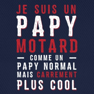 papys mortards, papi cool, papy motard Tee shirts - Casquette classique