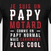 papys mortards, papi cool, papy motard Tee shirts - T-shirt Homme