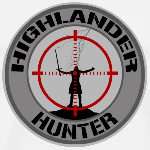 Highlander Hunter (Grey) - T-shirt Premium Homme