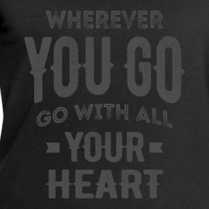 Your Heart - Inspirational Quotes. - Men's Sweatshirt by Stanley & Stella