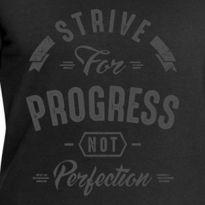 Strive For Progress - Inspirational Quotes. - Men's Sweatshirt by Stanley & Stella