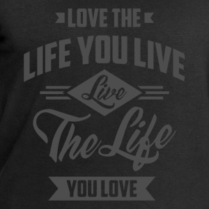 Love The Life - Inspirational Quotes. - Men's Sweatshirt by Stanley & Stella