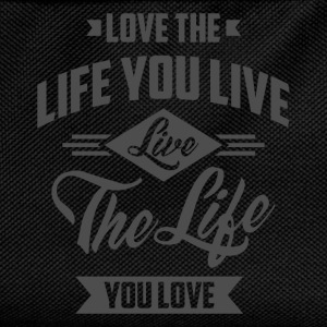 Love The Life - Inspirational Quotes. - Kids' Backpack