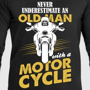 Never Underestimate An Old Man With A Motor Cycle T-Shirts - Men's Sweatshirt by Stanley & Stella