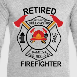 Firefighter Fellowship Retired T-Shirts - Men's Sweatshirt by Stanley & Stella