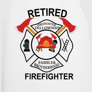 Firefighter Fellowship Retired T-Shirts - Cooking Apron
