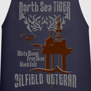 North Sea Oil Rig Oil Field Veteran T-Shirts - Cooking Apron