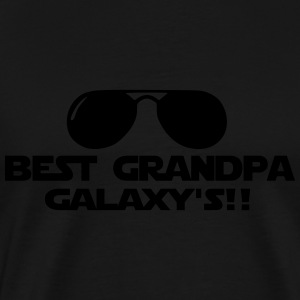 best grandpa Tabliers - T-shirt Premium Homme
