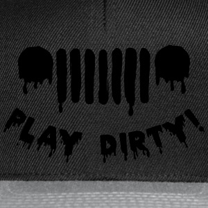 Jeep men - play dirty - Snapback Cap