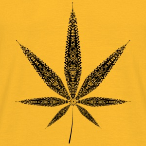 Cannabis Leaf Tops - Men's T-Shirt