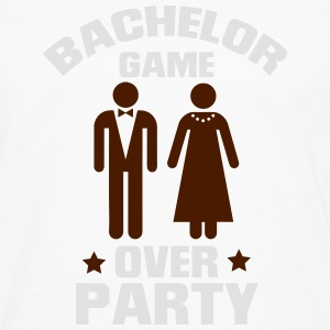 GAME OVER! (BACHELOR JGA PARTY) Polo Shirts - Men's Premium Longsleeve Shirt