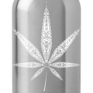 Cannabis Leaf - white Shirts - Water Bottle