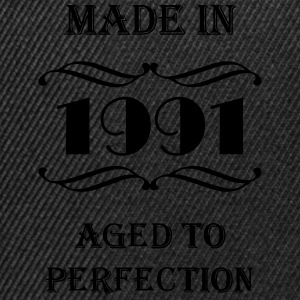 Made in 1991 Tee shirts - Casquette snapback