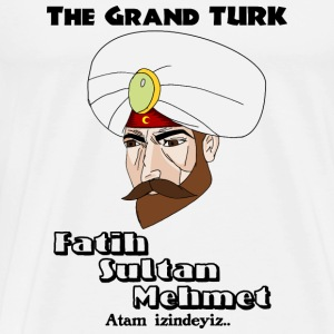 The Grand TURK Langærmede t-shirts - Herre premium T-shirt