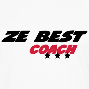 The best coach T-shirts - Herre premium T-shirt med lange ærmer