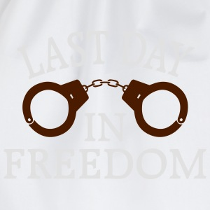 THE LAST DAY OF FREEDOM! Hoodies & Sweatshirts - Drawstring Bag