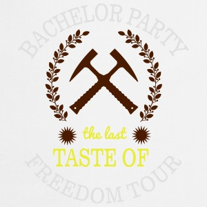 BACHELOR PARTY - THE LAST TASTE OF FREEDOM Shirts - Keukenschort