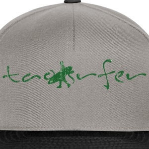 taosurfer_washed_darkgreen - Snapback Cap