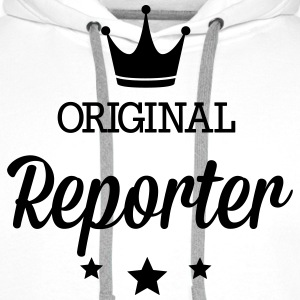 Original three star deluxe reporter T-Shirts - Men's Premium Hoodie