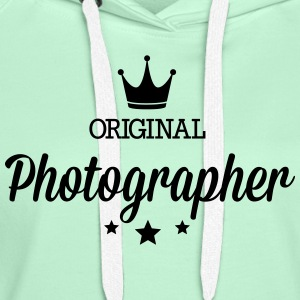 Original three star deluxe photographer T-Shirts - Women's Premium Hoodie