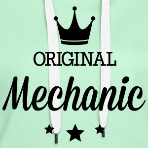 Original three star deluxe mechanic T-Shirts - Women's Premium Hoodie