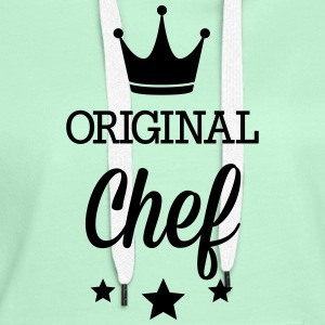 Original three star deluxe cooking T-Shirts - Women's Premium Hoodie
