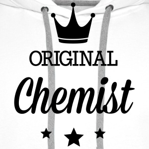 Original three star deluxe chemist T-Shirts - Men's Premium Hoodie
