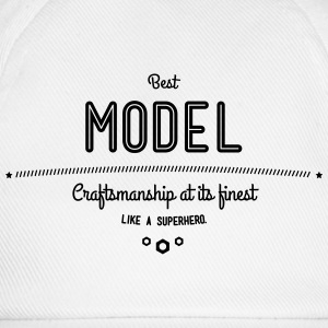 Best model as a super hero T-Shirts - Baseball Cap