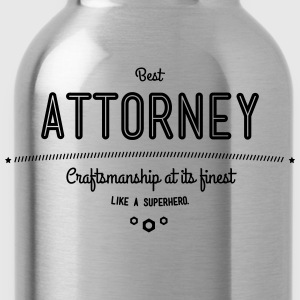 Best lawyers - craftsmanship at its finest, like a super hero T-Shirts - Water Bottle