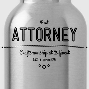 The Best lawyers - artisanat à son meilleur, comme un super héros Tee shirts - Gourde