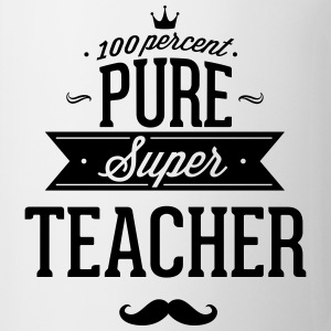 100% Super teacher T-Shirts - Mug