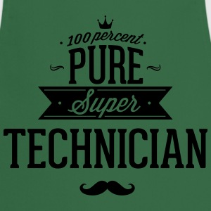 100% best technician T-Shirts - Cooking Apron